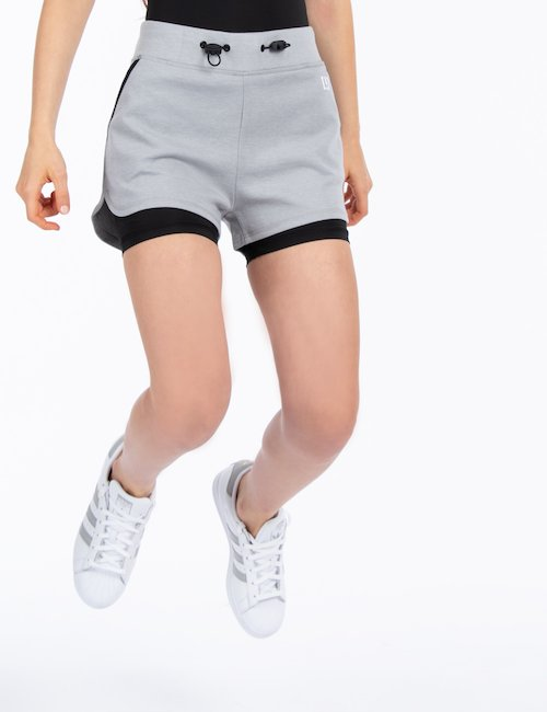 Short Imperfect sportivo - Grey