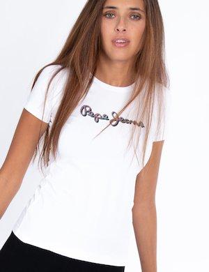T-shirt Pepe Jeans con scritta