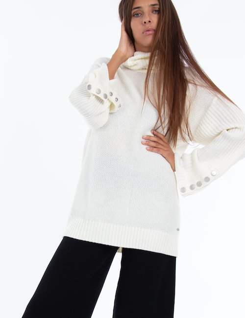 Dolcevita Pepe Jeans over - white