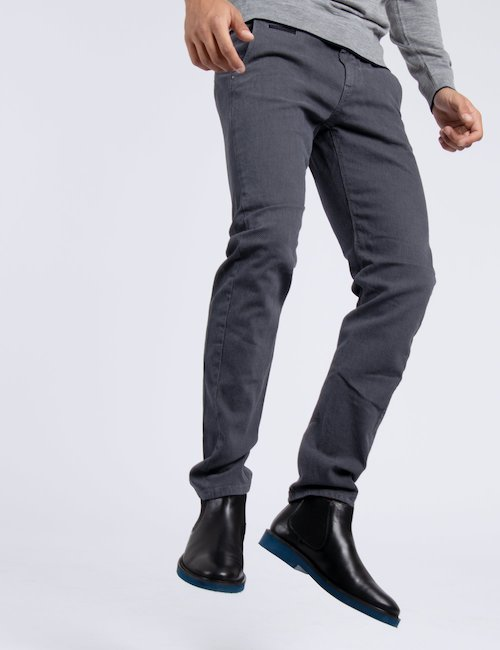 Pantalone skinny urban Fifty Four - Silver_Black