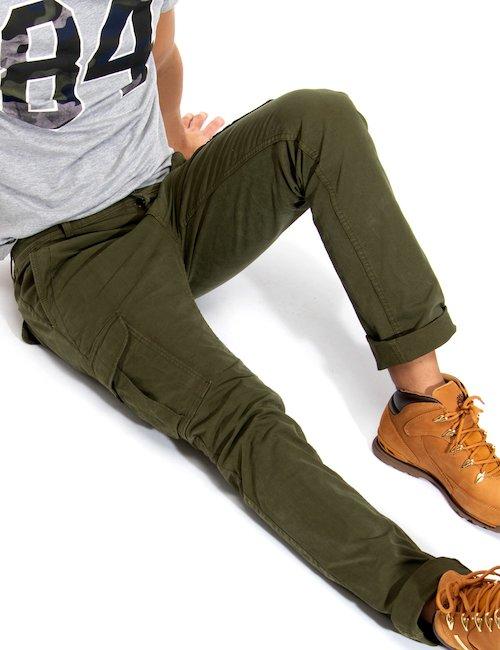 Pantalone cargo Napapijri - Green_Multicolor