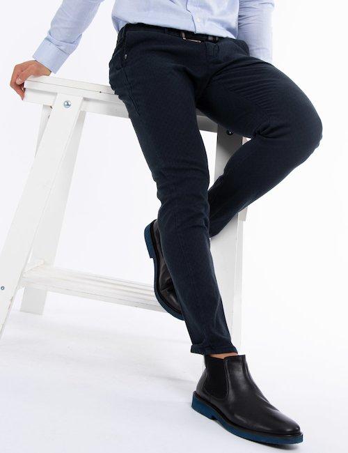 Pantalone Yes Zee casual chic - Blu