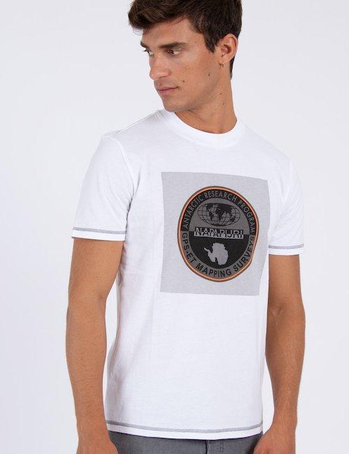 T-shirt girocollo SIROR PR N0YHY7002 f - Bianca
