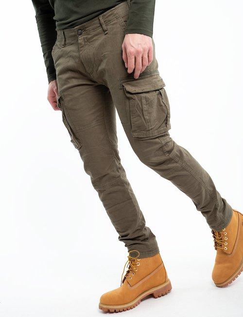 Pantalone cargo Smiling London - Green_Multicolor