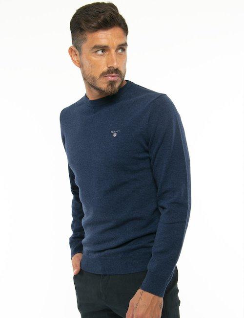 Maglione Gant girocollo - Blu