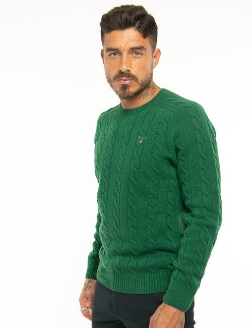 Maglione Gant in lana - Verde