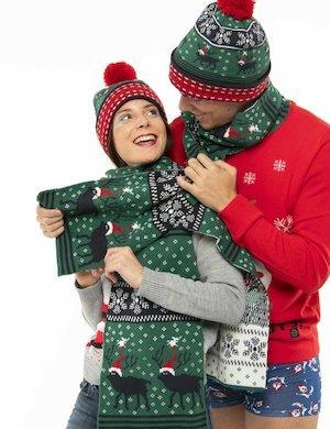Sciarpa Blend natalizia