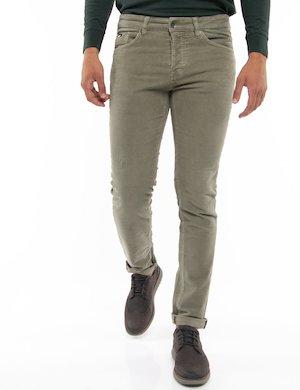 Pantalone Gas effetto velluto