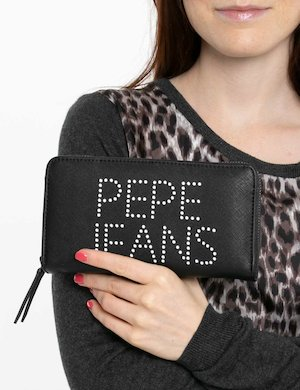Portafoglio Pepe Jeans logo forato