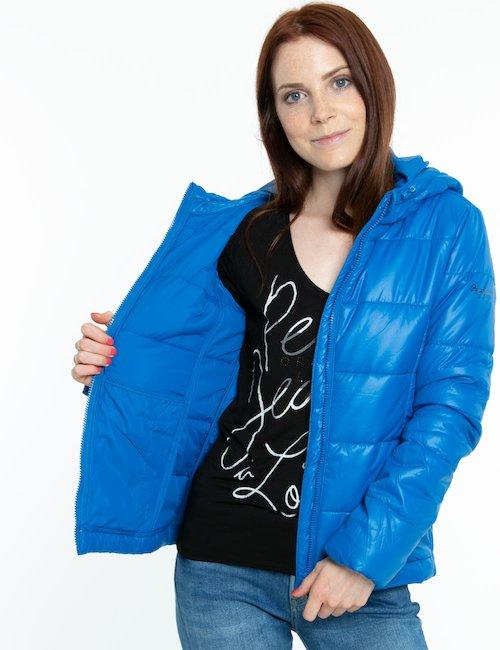 Giacca Pepe Jeans con cappuccio e zip - Blu