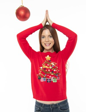 Maglione Vero Moda albero di Natale