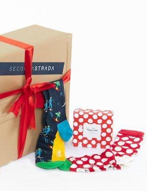 Calze Happy Socks confezione doppia Natale