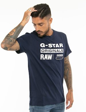 T-shirt G-Star Raw con logo