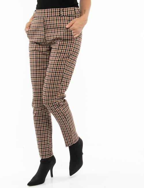 Pantalone Vougue a quadretti - Fantasia