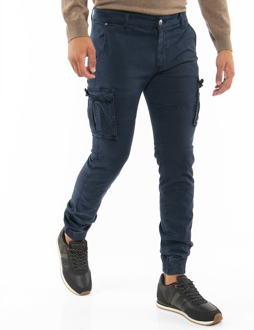 Pantalone Fifty Four skinny fit - Blu