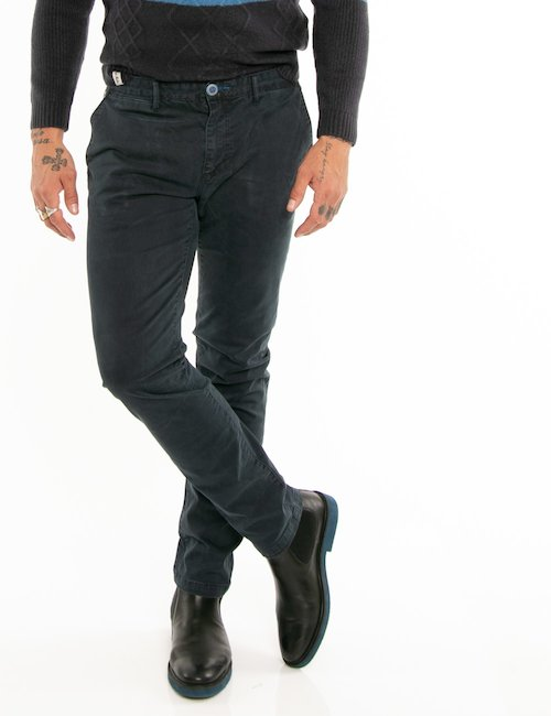 Pantalone Fred Mello taglio regolare - Blu