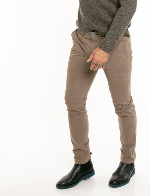 Pantalone Fred Mello taglio regolare - Marrone