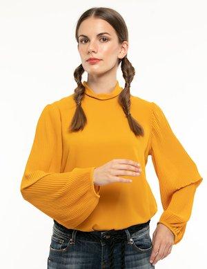 Camicia Fracomina con maniche plissé