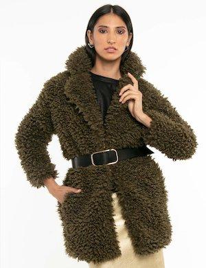 Cappotto Fracomina con cintura