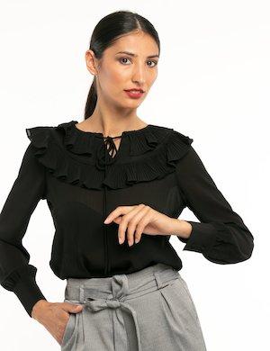 Camicia Fracomina con arricciature
