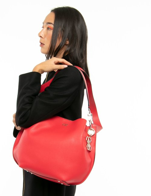 Borsa Guess a sacca - Rosso