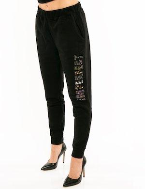 Pantalone Imperfect con applicazioni