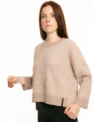 Maglione Imperfect effetto brillantinato