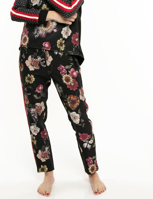 Pantalone Imperfect motivo floreale - Fantasia