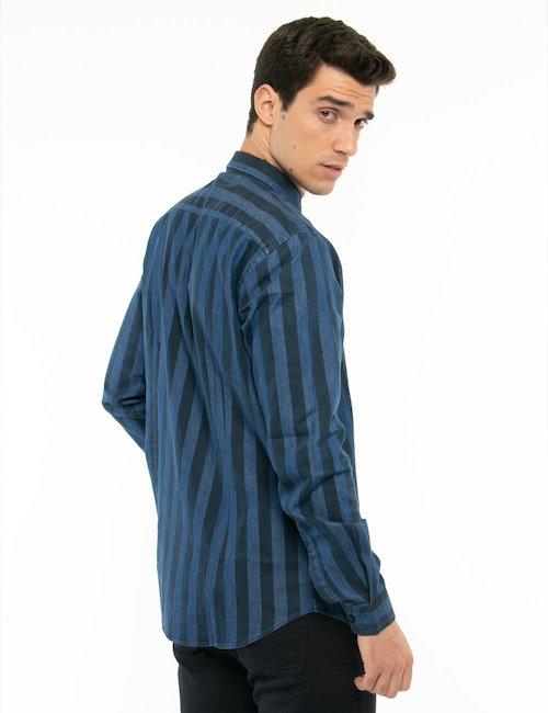 Camicia Liu Jo a righe - Blu