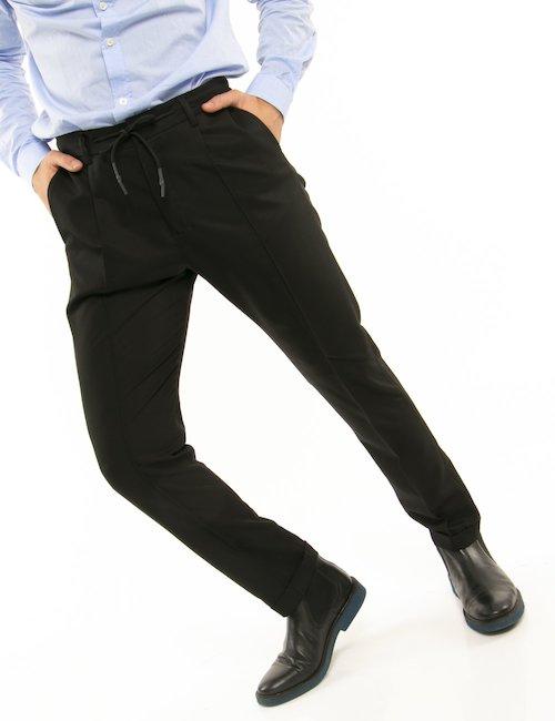 Pantalone Liu Jo con elastico in vita - Nero