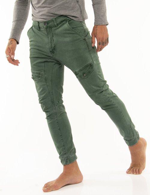 Pantalone Guess slim - Verde