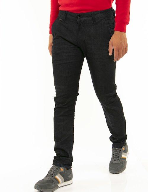 Jeans Guess gamba affusolata - Nero