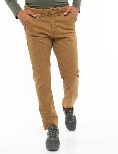 Pantalone Guess con taschino anteriore - Cammello