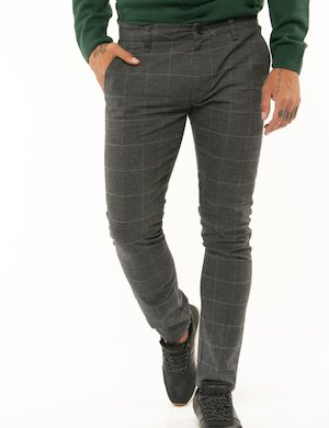 Pantalone Guess a quadri