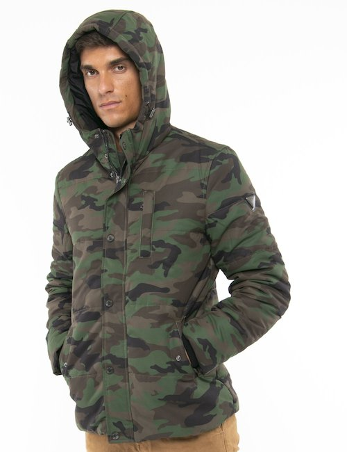 Giacca Guess militare - Verde