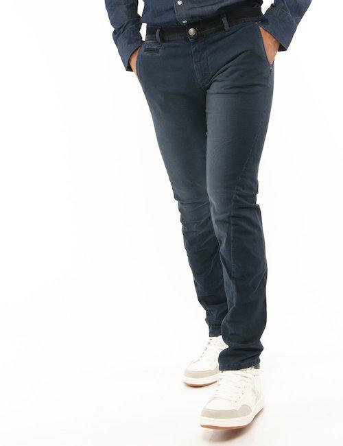 Pantalone Fifty Four microfantasia - Blu