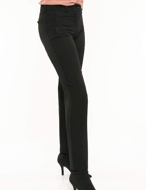 Pantalone Vougue taglio classico - Nero