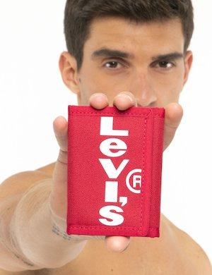 Portafoglio Levi's in tessuto