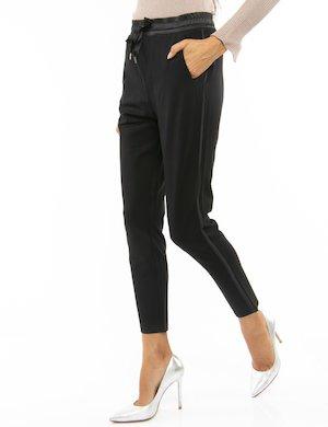 Pantalone Yes Zee con elastico e nastro in vita