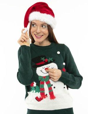 Maglione Vero Moda con pupazzo di neve