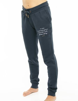 Pantalone Superdry con logo ricamato