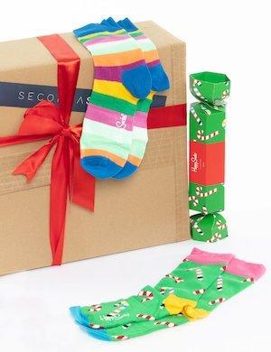 Calze Happy Socks confezione doppia caramella