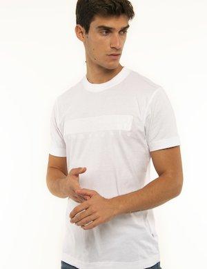 T-shirt Napapijri con logo ricamato