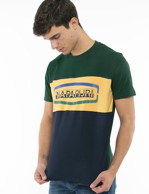 T-shirt Napapijri in tre colori