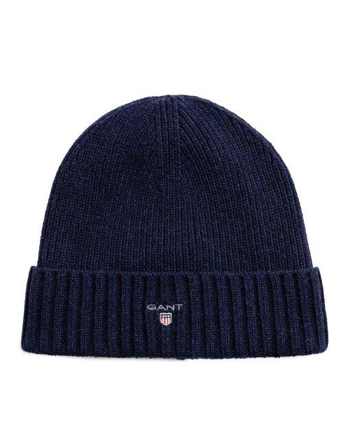 Cappello Gant con risvolto - Blu