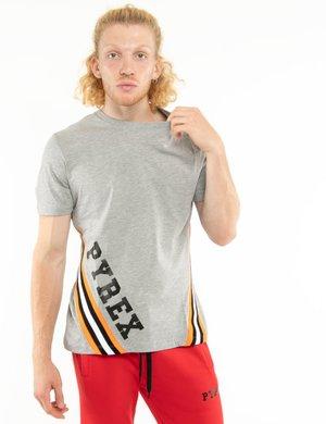 T-shirt Pyrex con bande fluo