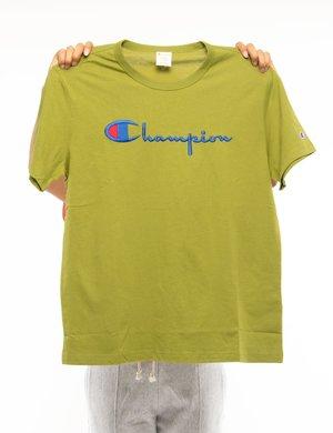 T-shirt Champion con logo ricamato