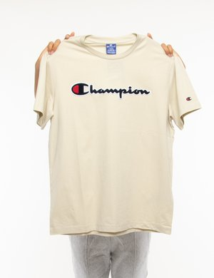T-shirt Champion con logo in rilievo
