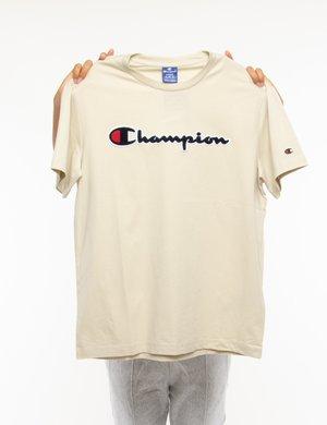 T-shirt Champion con logo in rilievo