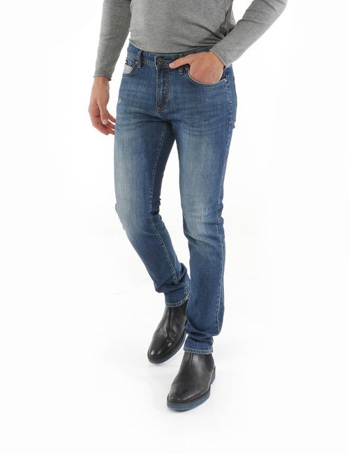 jeans Gas con taschino a contrasto - Jeans